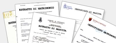 Certificato Stato Civile